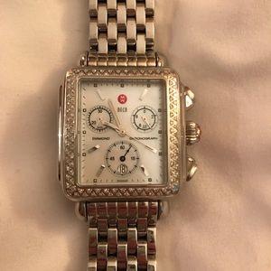 Michele Deco diamond watch